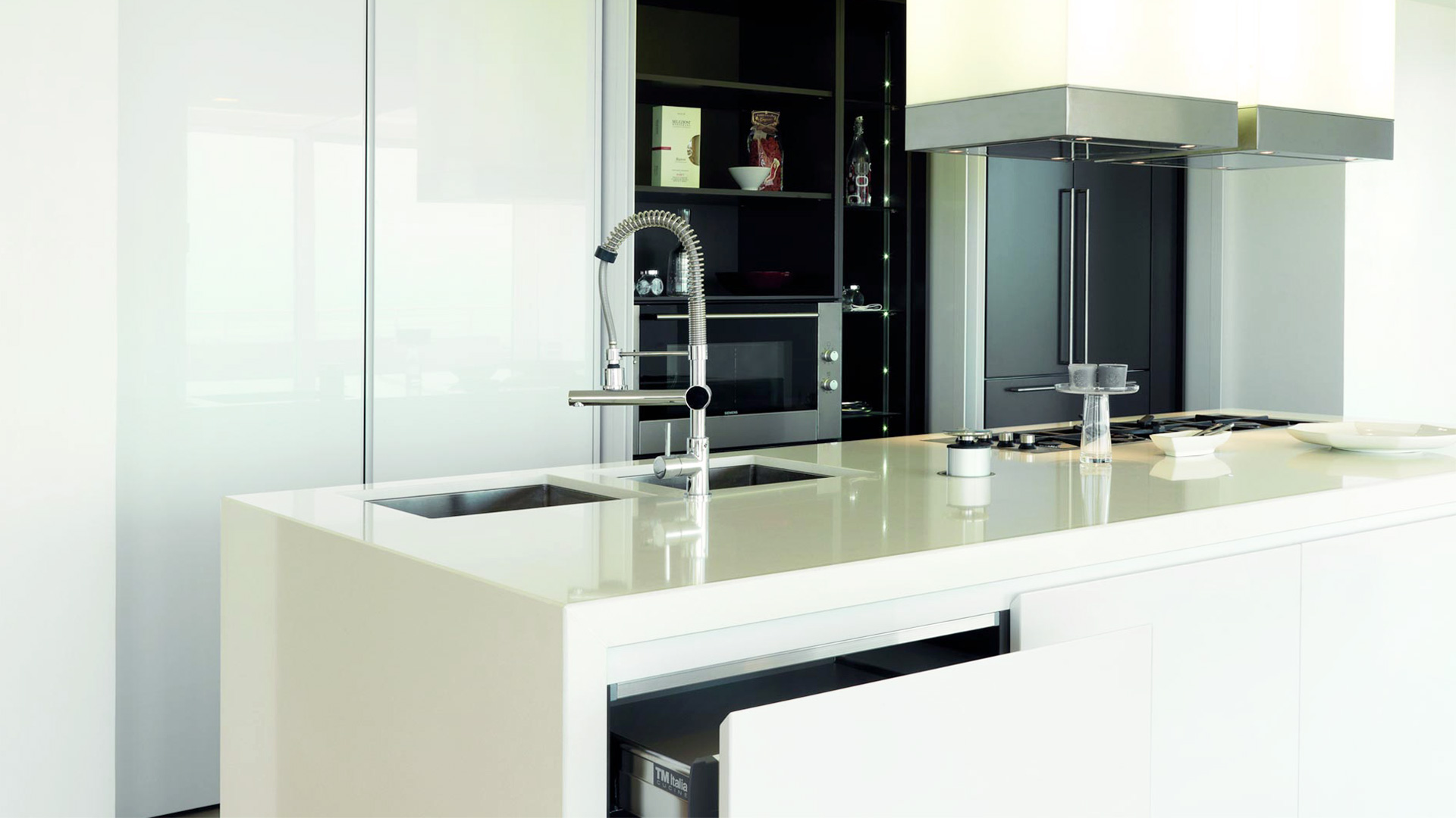 Credenza Con Cucina Incorporata : Credenza con tavolo estraibile incorporato awesome cucina