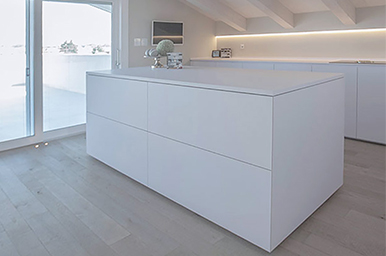 Beautiful Cucina Total White Pictures - Ideas & Design 2017 ...