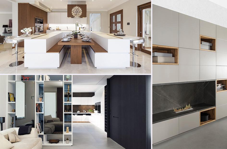 Cucina e living soluzioni su misura per arredare l 39 open space - Idee per arredare la cucina ...