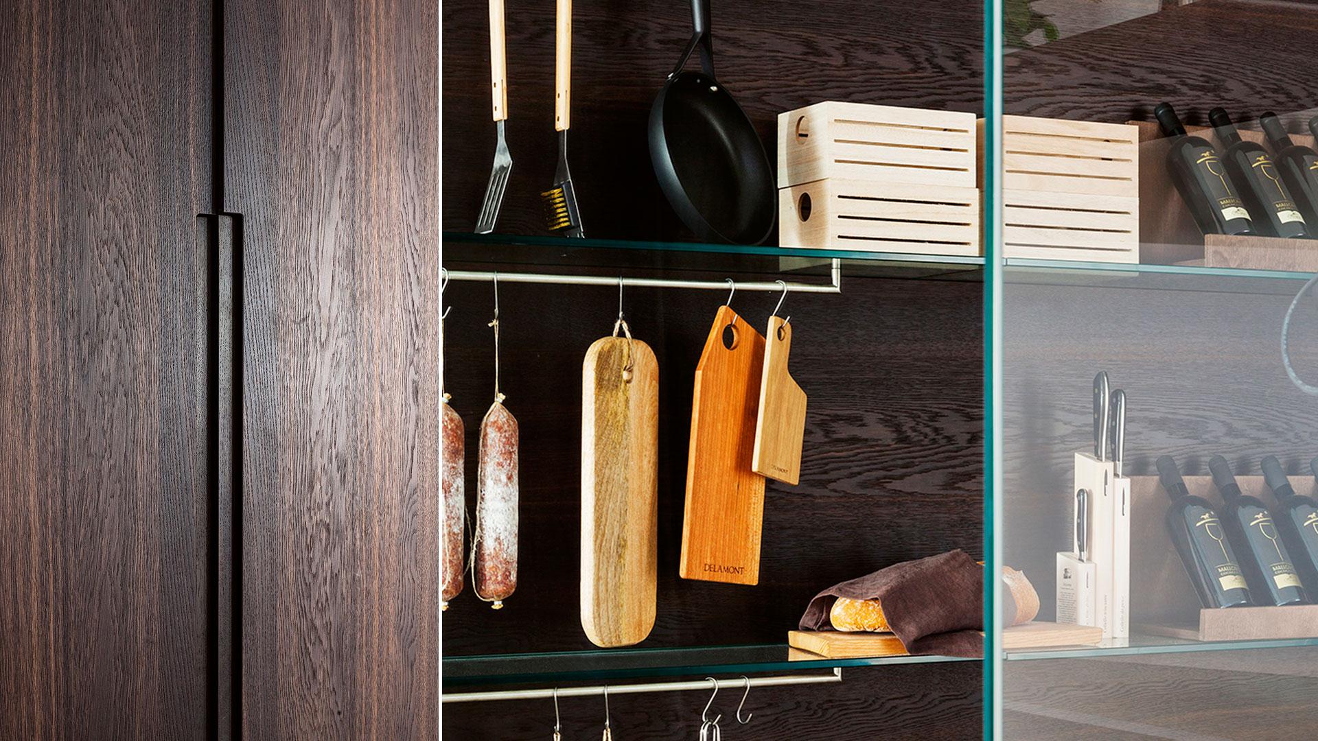 Cucina in legno e acciaio G180 | Collezioni Cucine 2018 TM Italia - TM_CAT_G180_004-b