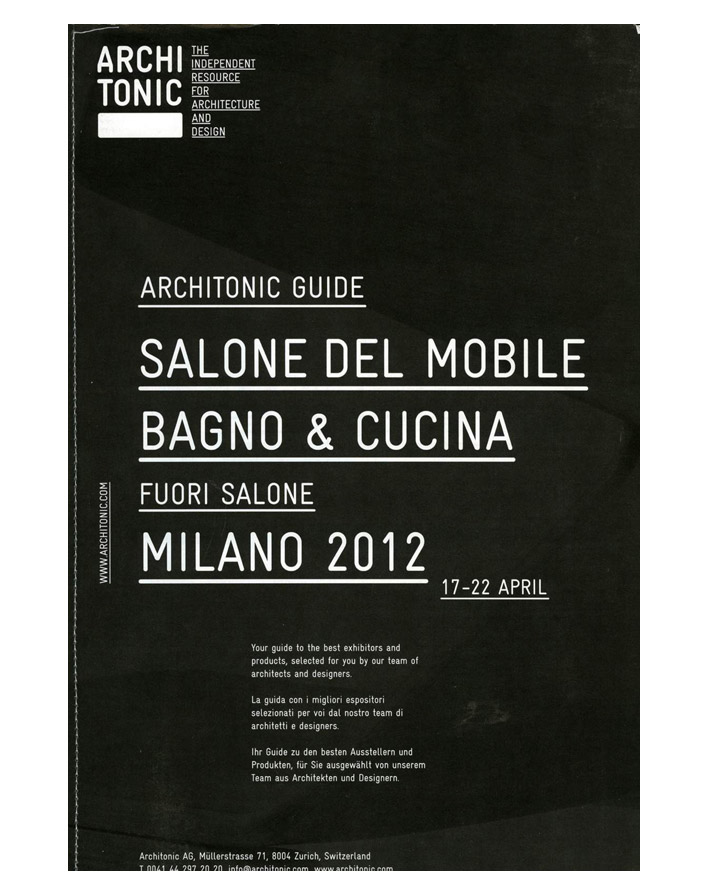 ARCHITONIC GUIDE (04/2012)