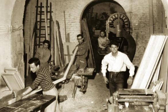 La nostra storia, la nostra identità | Progetti Cucine Design TM Italia - TMItalia_VecchiaFalegnameria-2-585x390-585x390