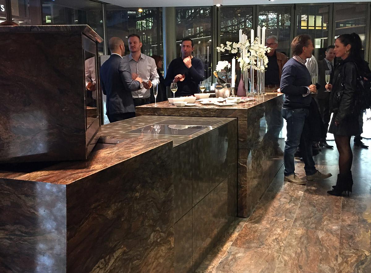 """TM Italia presenta il progetto inedito """"Quinto Elemento"""" nel nuovo showroom Real-Stein a Zurigo"""