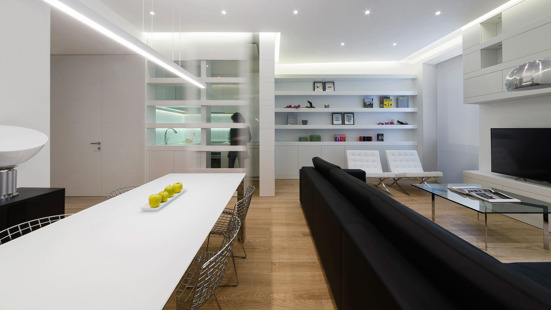 Progetto contract interior design appartamento privato roma - Interior design roma ...