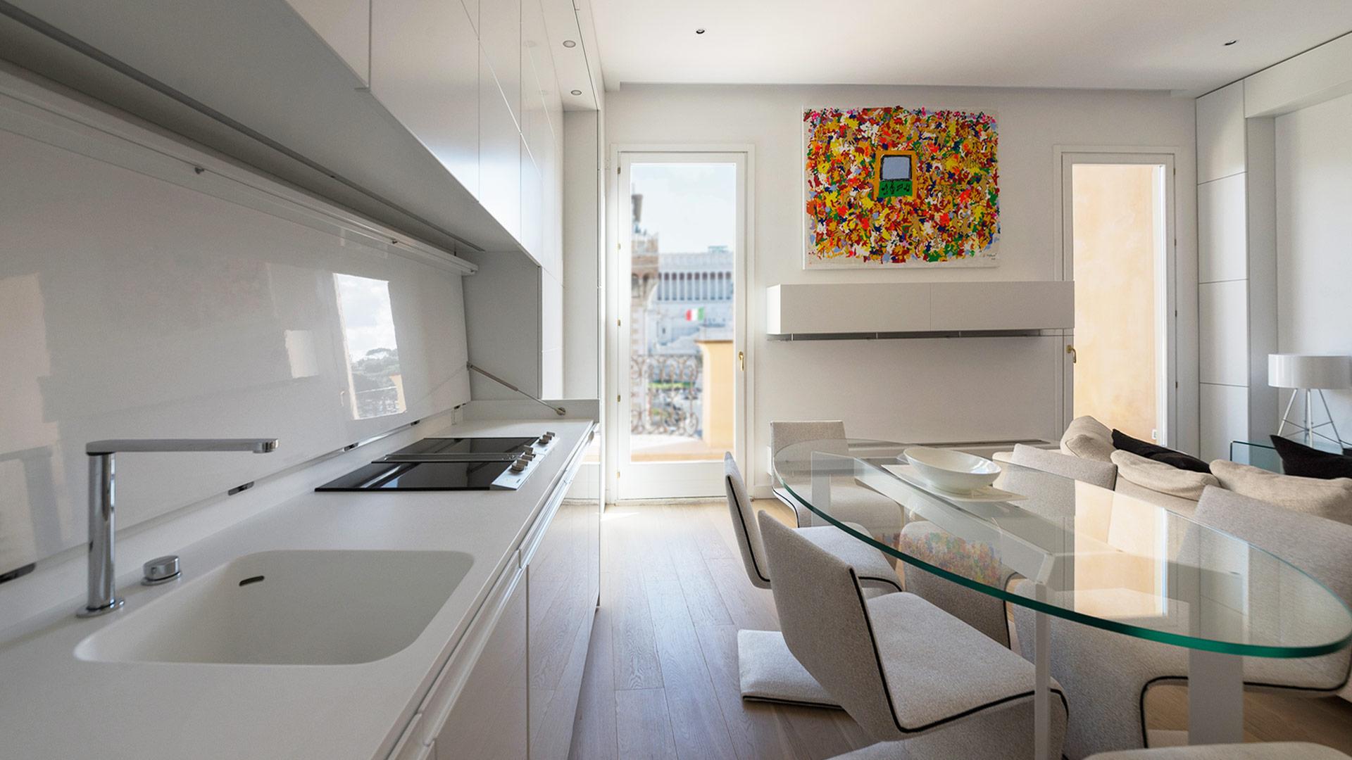 Progetto interior design open space roma for Roma interior design