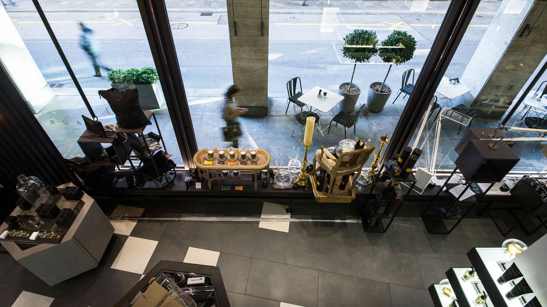 Progetto Contract Retail Salone di bellezza Mauri Lugano - TM_CH_LU_MAURI_07