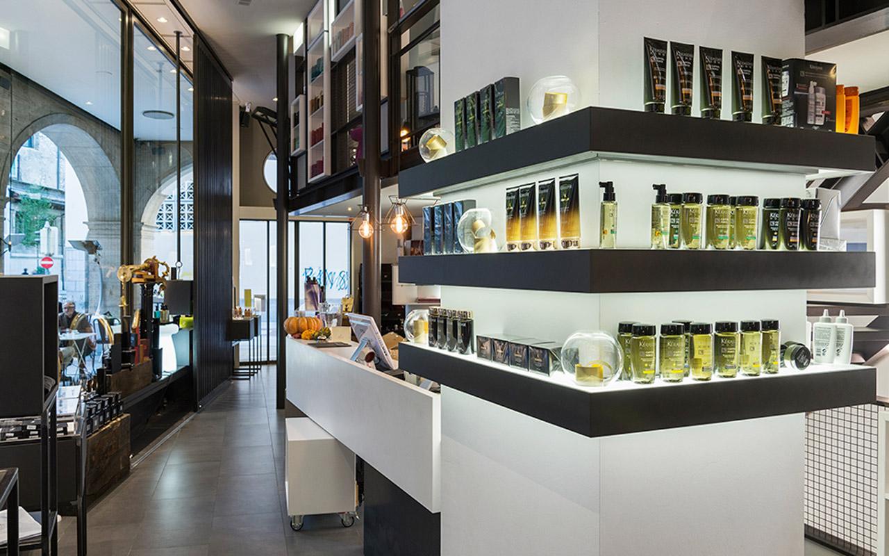 Progetto Contract Retail Salone di bellezza Mauri Lugano - TM_CH_LU_MAURI_boutique01