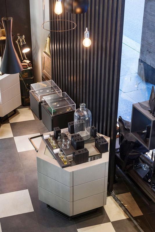 Progetto Contract Retail Salone di bellezza Mauri Lugano - TM_CH_LU_MAURI_boutique02