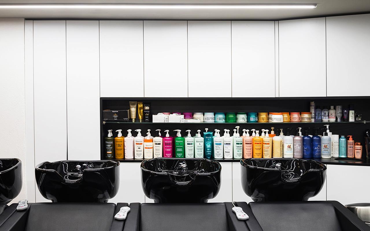 Progetto Contract Retail Salone di bellezza Mauri Lugano - TM_CH_LU_MAURI_parruchieria03