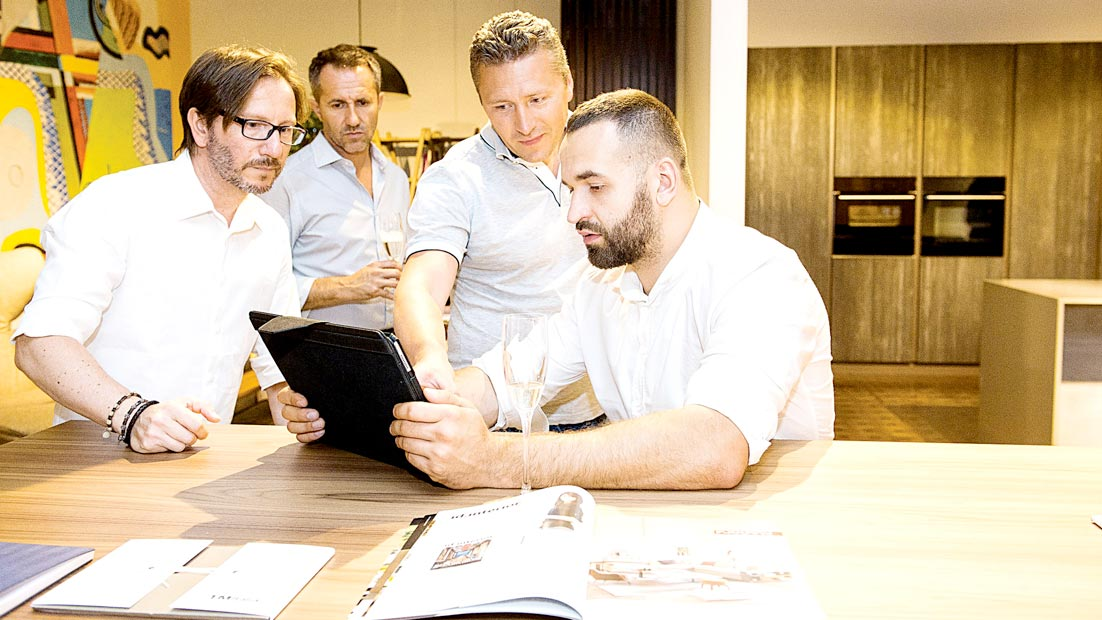 Presentati a Kiev due progetti cucina inediti nell'Atelier TM Italia Dominio - Cucine su Misura   TM Italia Cucine - dominio-ews-gallery-3