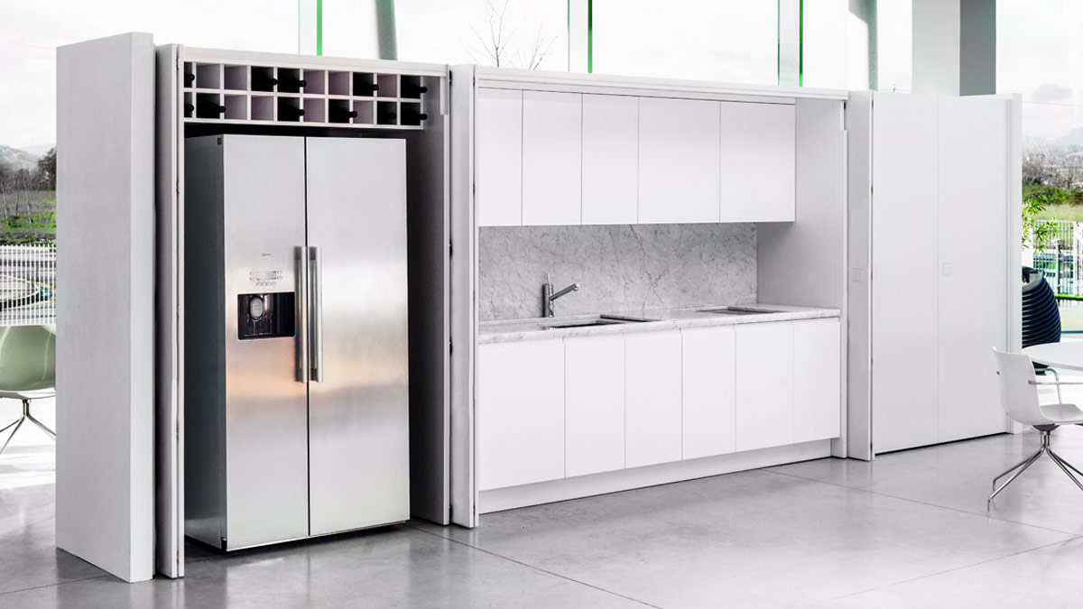Cucine Schmidt Soluzioni Su Misura : Cucina e living soluzioni su misura per arredare l open space