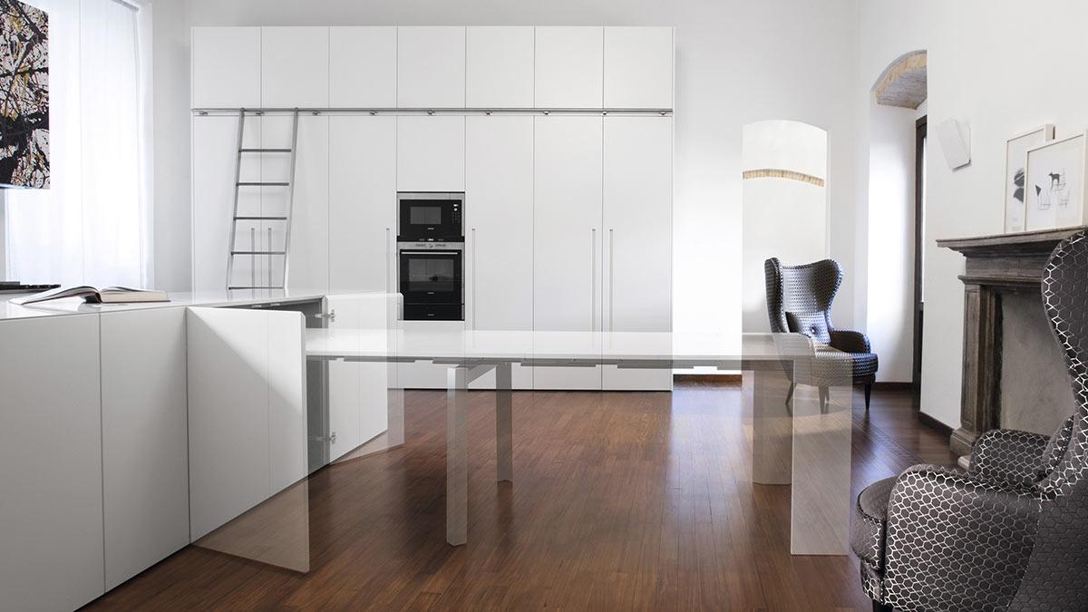 Cucina e Living: soluzioni su misura per arredare l\'open space
