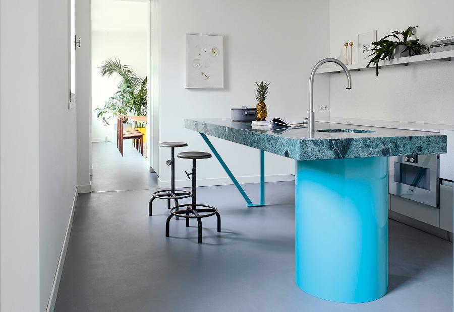 Una cucina in marmo per CASA FLORA - TMItalia_NEWS_CASAFLORA_gallery-1