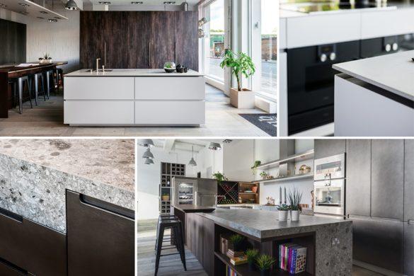 TM Italia presenta a Londra due nuovi progetti cucina su misura per il nuovo showroom di HUB Kitchen