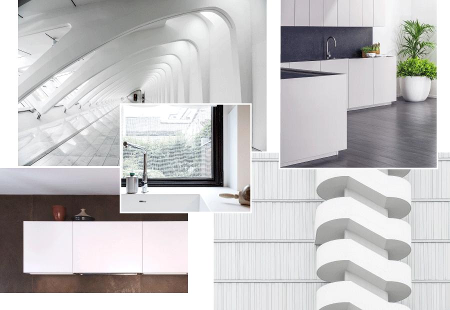 Cucina bianca: essenzialità, luce, amplificazione dello spazio - TM-Italia_Cucine-bianche_Gallery_Volumi