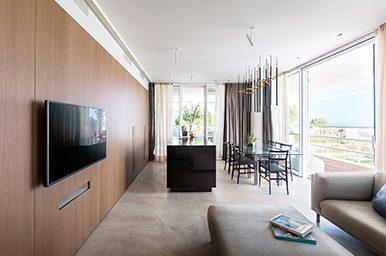 Interior: design raffinato e lineare nel progetto di interni a Lido di Jesolo