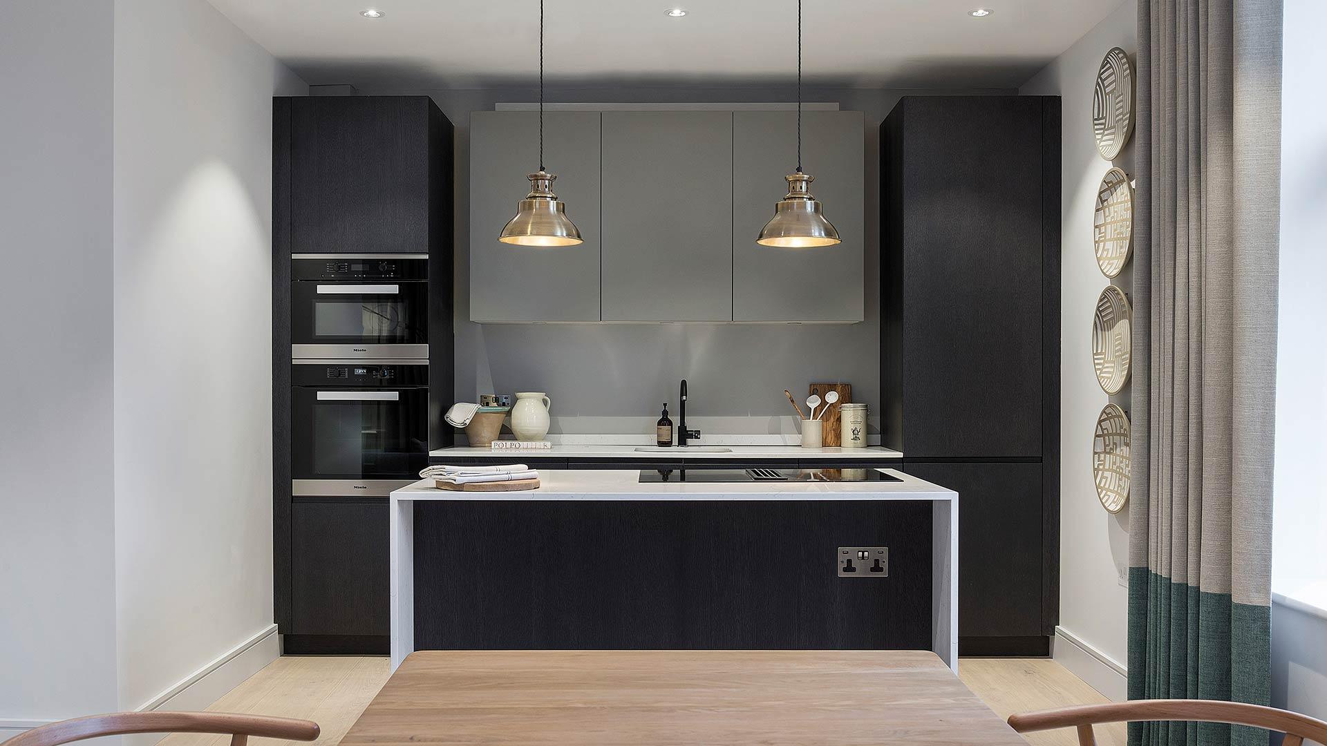 Cucina con isola_Londra 1
